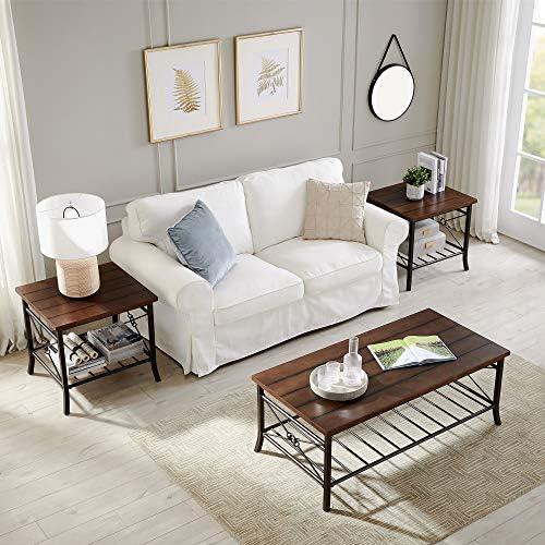 3 Piece Coffee Table Set for Living Room, Sofa...