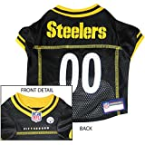 PITTSBURGH STEELERS Dog Mesh Jersey ALL SIZES Licensed NFL (Small)