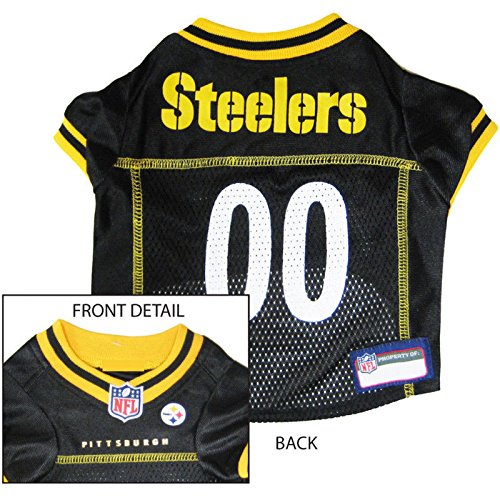PITTSBURGH STEELERS Dog Mesh Jersey ALL SIZES Licensed NFL (XXL)