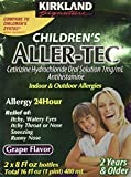 img - for Kirkland Signature Childrens Aller Tec Indoor And Outdoor Allergy Medicine Grape TEJ book / textbook / text book