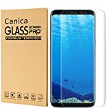 Galaxy S8 Plus Screen Protector,Galaxy S8 Plus Tempered Glass Screen Protector,Canica Samsung Galaxy S8 Plus Film- Screen Coverage for Galaxy S8 Plus