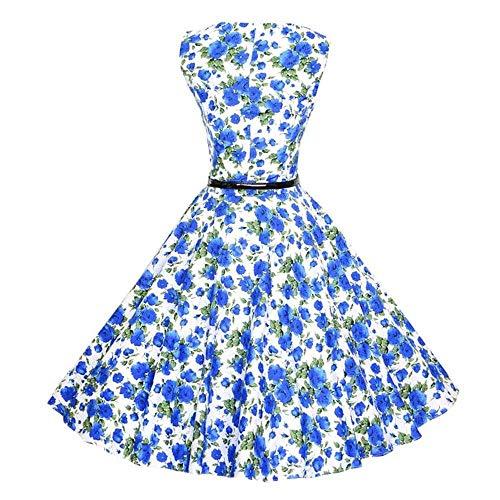 Abito Elegante shirt Vintage LargeBlu Mini Floreale Spiaggia Floral Da Donna Aderente Abiti Tunica Manica A CasualColoreRossoDimensione T Lunga Stampa 5jRL4A3