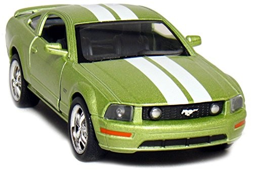 Mustangs Tissue Box - 2006 Ford Mustang GT with Stripes 1:38 Scale Diecast Car Model 5