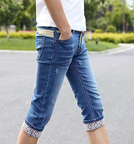 Da Pantaloncini Di Elasticizzati 4 Jeans Estate 3 Fit Alsbild Uomo Pantaloni Slim Abbigliamento EqE6rTxwH