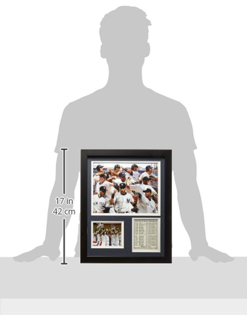 Legends Never Die 2009 New York Yankees Framed Photo Collage 11x14-Inch