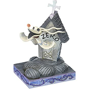 Disney Traditions By Jim Shore The Nightmare Before Christmas Zero Stone Resin Figurine