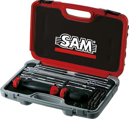 SAM Outillage 266 J41 Coffret de vissage avec tournevis à
