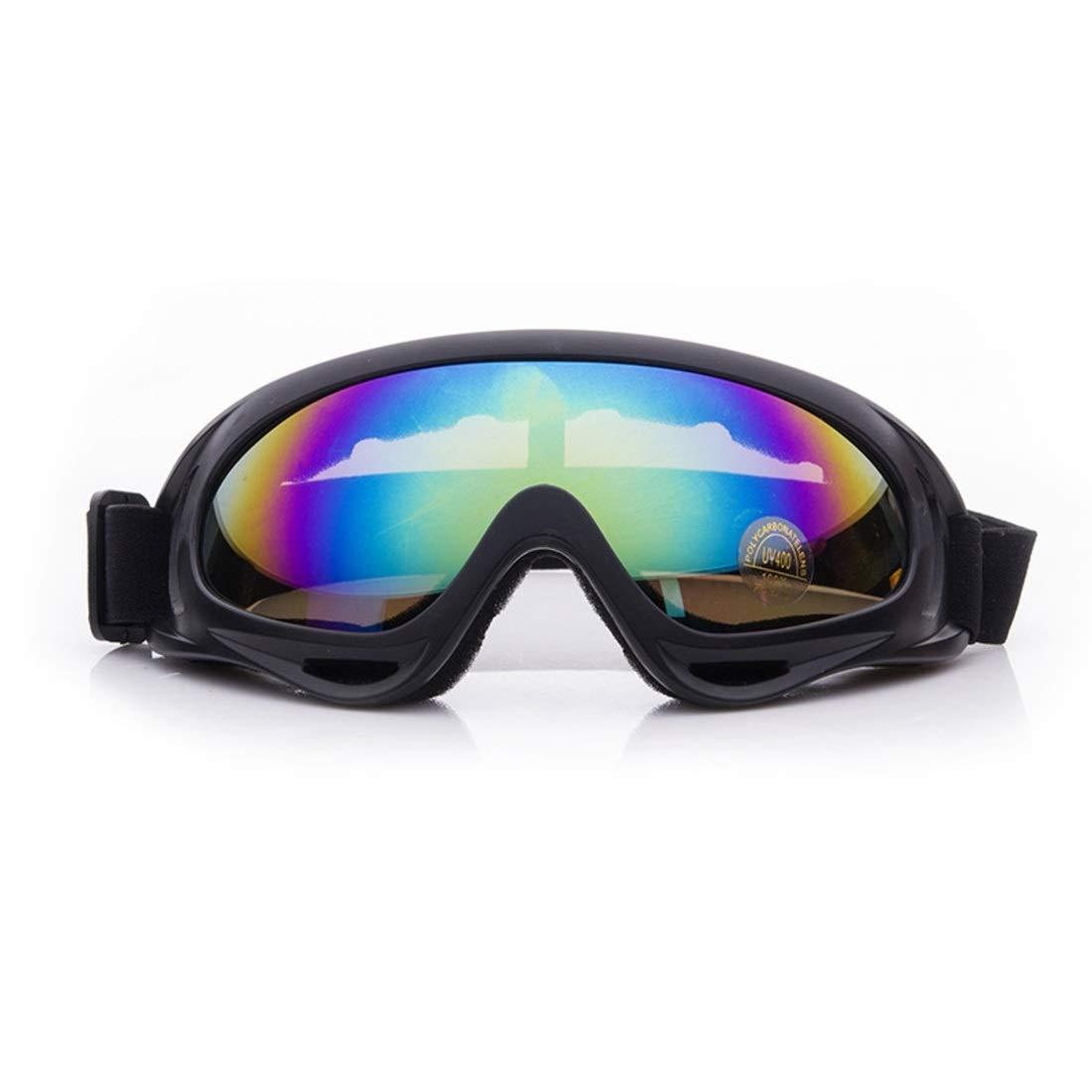 BAOYIT Polarized Outdoor Anti-Fog Skiing Windproof Eyewear Riding Motorcycle Glasses for Women Men (Color : C) by BAOYIT