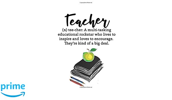 teacher quote notebook inspirational teacher appreciation gift or