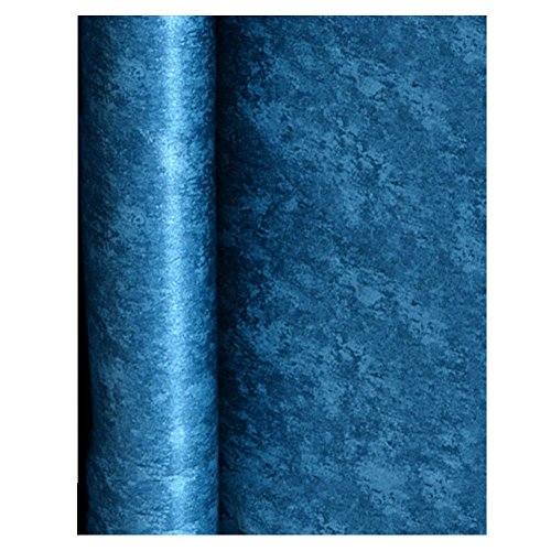 - BleuMoo Dark Blue Non Woven Plain Wallpaper Living Room Background Wall Solid Color Wallpaper