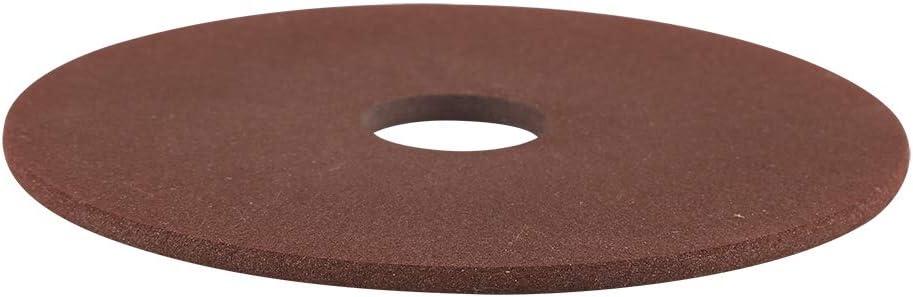 Cafopgrill Disco de muela abrasiva de 105 mm x 22 mm para afilador de Motosierra de 3/8