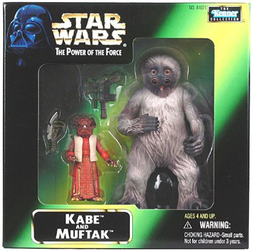 Star Wars Power of the Force - Mail In Kabe & Muftak Action Figures -