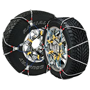 Security Chain Company SZ462 Super Z8 8mm Commercial and Light Truck Tire Traction Chain - Set of 2