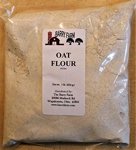 Oat Flour, 1 lb. by Barry Farm (Image #1)