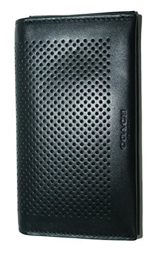 Coach Universal Perforated Leather F65204
