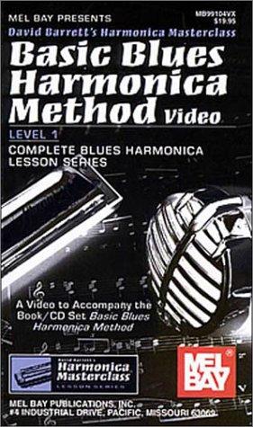 Mel Bay Basic Blues Harmonica Method Video ()