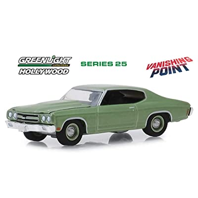 1970 Chevy Chevelle, Vanishing Point - Vanishing Pointlight 44850B/48 - 1/64 Scale Diecast Model Toy Car: Toys & Games