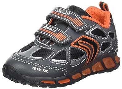 Geox J Munfrey B, Zapatillas para Niños, Gris (Grey/Navy), 25 EU