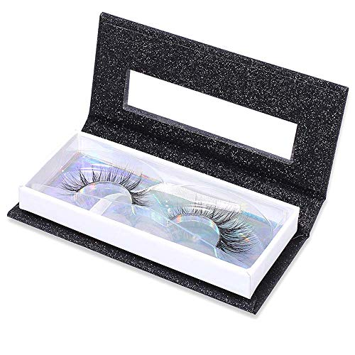 LiPing Empty False Eyelash Care Storage Case Box Container Holder Compartment Tool (12 x 5.2x 2.2cm)