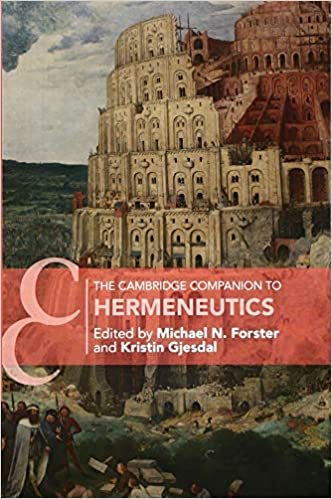 The Cambridge Companion to Hermeneutics