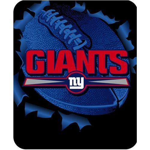 - NFL Football New York Giants Licensed Rashel Throw Blanket 50
