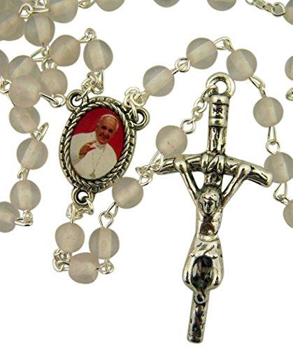 Rosary Papal Crucifix - 2