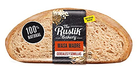 The Rustik Bakery Pan de Masa Madre y Cereales - 450 g ...