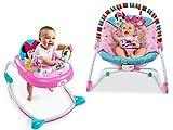 Disney Baby Minnie Mouse Peekaboo Infant To Toddler Rocker and Disney Baby Minnie Mouse Peekaboo Walker