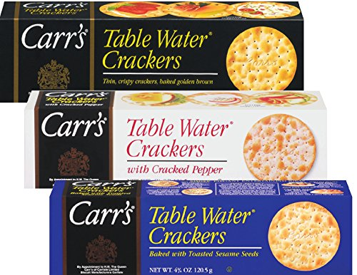 - Carr's Table Water Cracker Selection, 25.5 Ounce