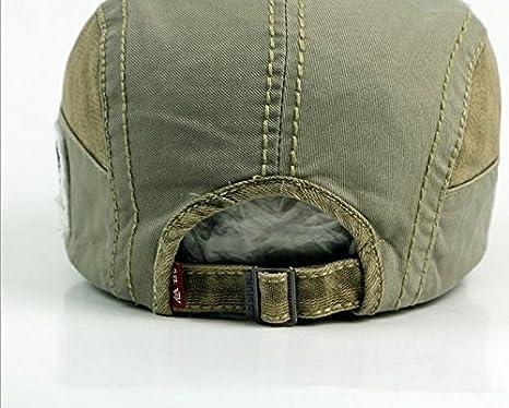 ACVIP Cotone Coppola Uomo Casual Cappello Giuntura 51ea3f051b2b