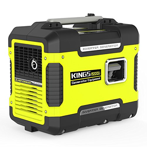 Inverter Generator Portable 2000 W,Ultra Quiet Generator Power Station with 12V DC,120 AC,Gas Power Generator Inverter