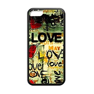 Love of Rock Style White Stylish Cover Case For ipod touch 5 ipod touch 5 with high-quality Silicon Rubber