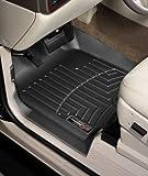 WeatherTech Custom Fit Front FloorLiner for Honda Ridgeline (Black)