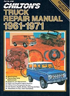 Chiltons repair tune up guide ford pick ups 1965 82 f 100 f chiltons truck repair manual 1961 1971 light and medium duty gasoline and diesel powered fandeluxe Gallery