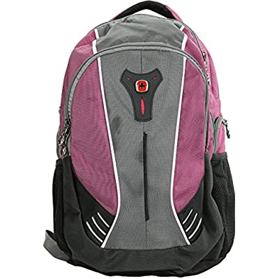 "SwissGear THE JUPITER 16"" Padded Laptop Backpack / School Travel bag durable service"