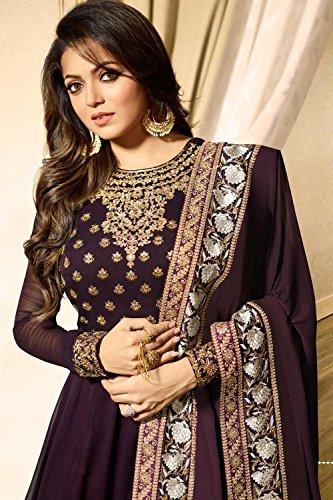 Salwar Da 1 Women Traditonal Indian Purple Kameez Ethnic Facioun Partywear Designer 70vxrg0qn