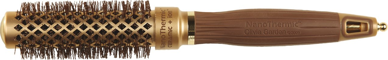 Olivia Garden Nano Thermic NT-24 - Cepillo térmico, 24 x 40 mm
