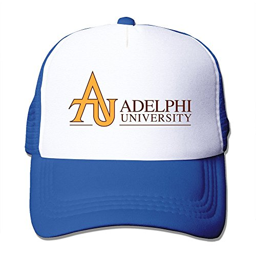RoyalBlue HGLENice Adelphi University Unisex Adjustable Baseball Mesh Hat One Size