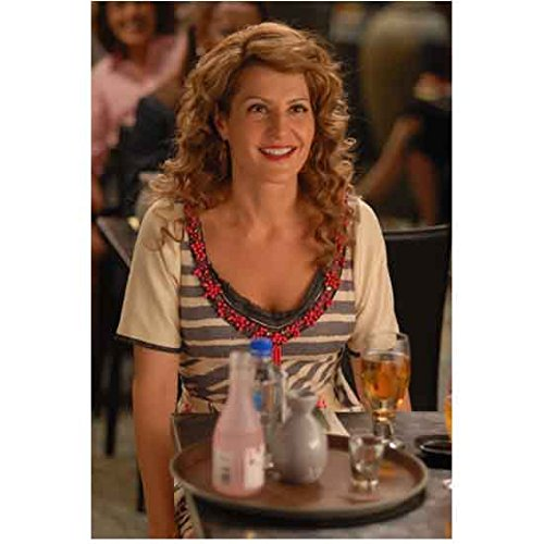 I Hate Valentine's Day (2009) 8 inch by 10 inch) PHOTOGRAPH Nia Vardalos from Waist Up at Table w/Drinks kn ()