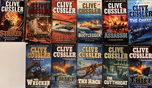 Clive Cussler Isaac Bell Series Set (Clive Cussler Isaac Bell Series In Order)