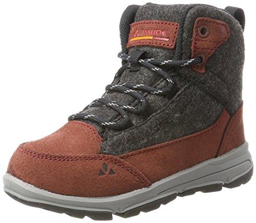 VAUDE UBN Kiruna Mid Cpx, Zapatos de High Rise Senderismo, Unisex, infantil Marrón (Beechnut)