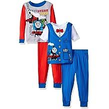 Thomas & Friends Baby Boys' Thomas The Train 4-Piece Cotton Pajama Set