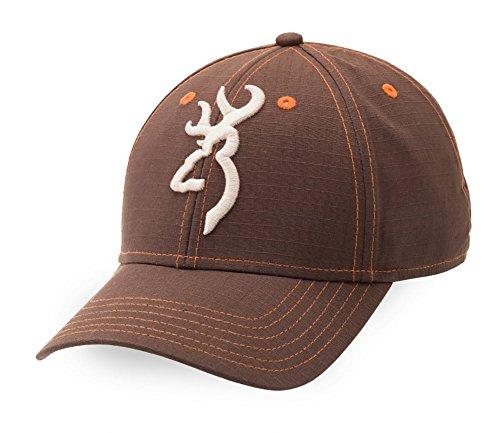 Browning Logan Buckmark Brown/Orange Hat Cap