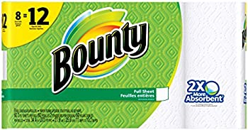 3-Pack Bounty White Paper Towels (8 Giant Rolls) + $10 Gift Card