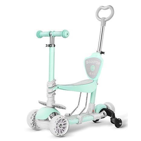 Baby Stroller YXGH@ Scooter para niños 5 en 1, Patinete ...