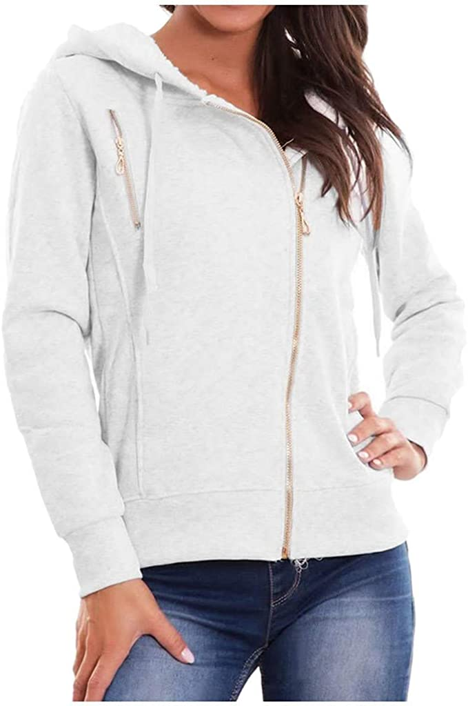 SOMESUN Damen Winterjacke Hoodie Sweatshirts Frauen Warm