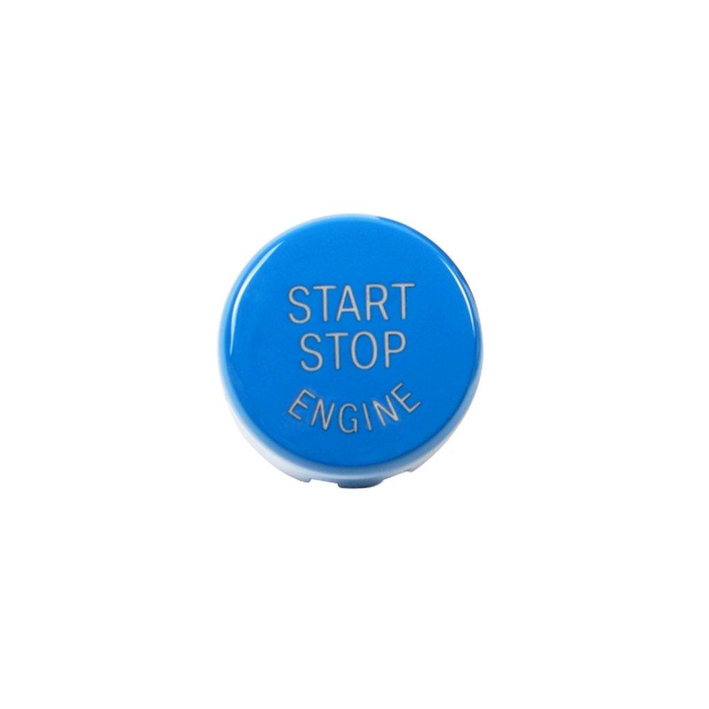 KKmoon Auto Start Stop Bouton Moteur Couvercle E Châ ssis avec Collant d' Argile Noir