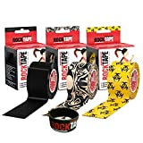 RockTape Kinesiology Tape for Athletes - 2 Inch x 16.4 Feet (Tattoo)