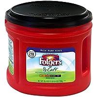Folgers Half-Caff Ground Coffee, Medium Roast, 25.4 Ounce