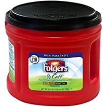 Folgers 1/2 Caff Coffee, 25.4 Ounce